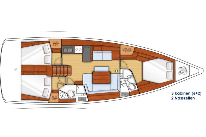Oceanis 45 owner version