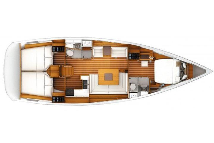 Sun Odyssey 449 owner version