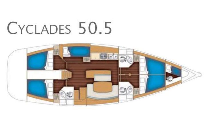 Cyclades 50.5