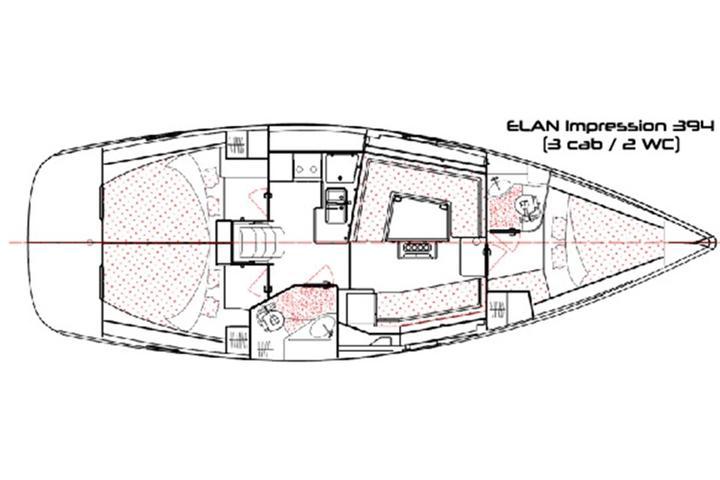 Elan 394 impression