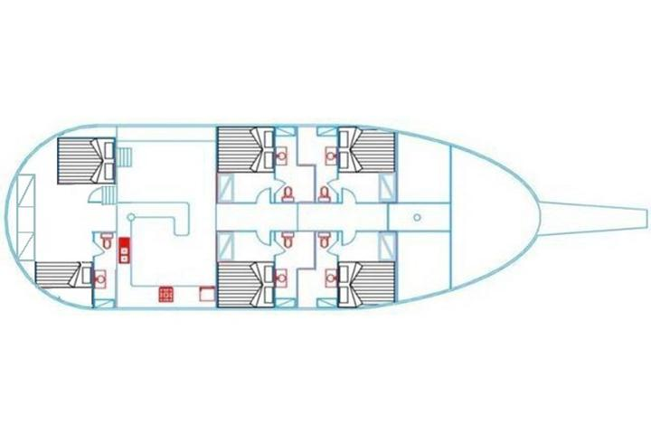 Gulet Atlantia Cabin 2