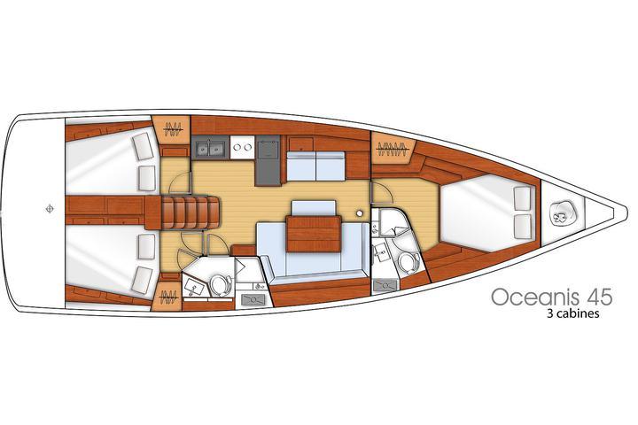 Oceanis 45 M