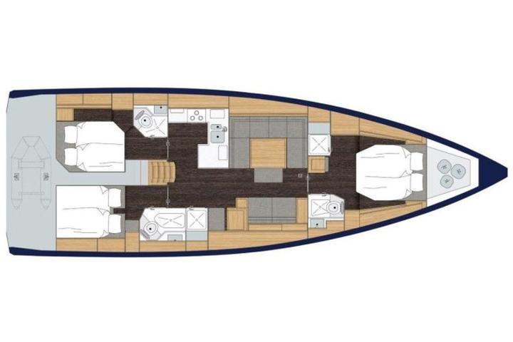 Bavaria C50 Style - AC + GEN